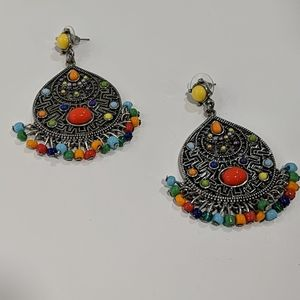 Multi-color Bohemian Earrings